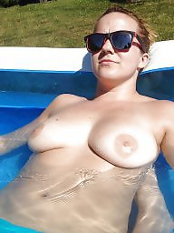 Couple, Milf tits, Exposed, Horny, Amateur tits