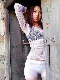 Chinese, Asian stockings, Sweet girl, Sweet, Asian stocking, Asian babe