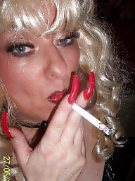 Femdom, Smoking, Smoke, Nails, Femdom milf