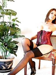 Heels, Teen lingerie, Amateur lingerie, Teen stockings