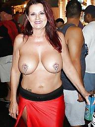 Public, Fantasy, Fantasy fest, Public boobs