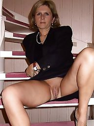 Mature upskirt, Blonde mature, Blond, Upskirt milf, Upskirt mature, Stockings mature