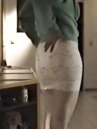 Skirt, Lace, Tights, Bitch, Tight, White