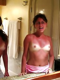 Tan lines, Tanned