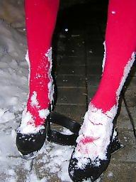 Heels, Snow
