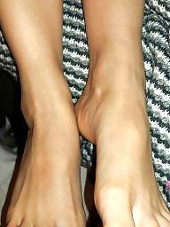 Feet, Wife stocking, Stocking feet