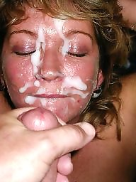 Blowjob, Mature facial, Mature sex, Mature blowjob, Facials, Mature facials