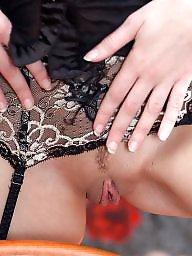 Lingerie, Amateur lingerie, Brunette, Teen lingerie