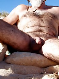 Mature beach, Hairy mature
