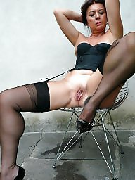 Teen stockings, Nylons milf, Milf stocking