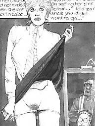 Humiliation, Upskirt ass