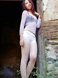 Chinese, Sweet, Sweet girl, Chinese girl, Asian stockings
