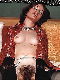 Caught, Lady, Stocking hairy, Hairy vintage, Hairy stockings