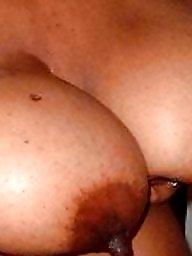 Nipples, Areola, Big black