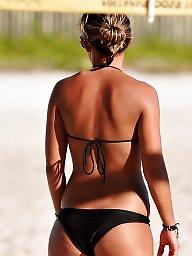 Bikini, Beach, Bikinis, Ass bikini, Beach milf