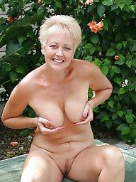Garden, Sexy mature, Naked