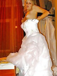 Wedding, Bride, Blond, Flashing, Brides