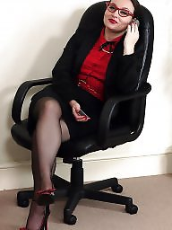 Office, Lady, Mature lesbian, Lady b, Boss, Officer