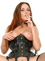 Smoking, Latex, Leather, Smoke