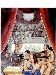 Theater, Sex cartoon