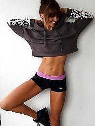 Teen, Brunette, Chick, Fitness
