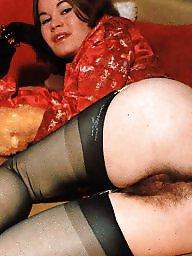 Caught, Hairy stockings, Stocking hairy