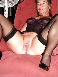 Ladies, Milf stockings, Milf stocking