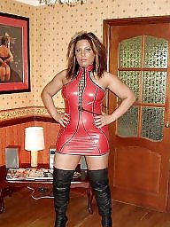 Latex, Milf, Pvc, Leather, Mature latex, Mature leather