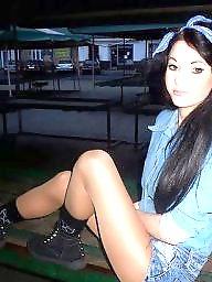 Stocking, Upskirt, Legs stockings