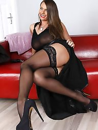 Milf stockings, Mature mix