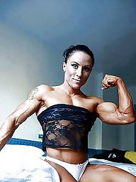 Muscle, Muscled milf