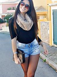 Upskirt, Legs stockings, Leg