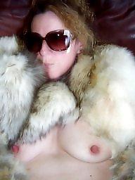 Fur, Coat, White