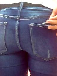 Jeans, Hidden, Butt, Hidden cam, Butts