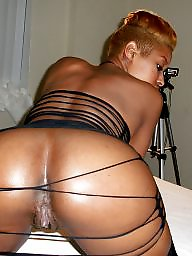 Panties, Ebony ass, Panty ass, Black stocking, Ebony panties, Black tits