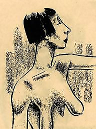 Cartoon, Vintage, Comix, Vintage cartoons, Vintage cartoon, Vintage tits