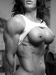 Muscle, Funny, Muscled, Muscles, Muscled milf, Femdom milf