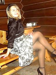 Upskirt, Upskirt stockings, Legs