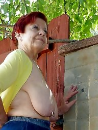 Granny, Grannies, Slave, Granny boobs, Mature slave, Big granny
