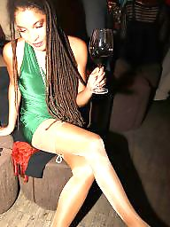Spandex, Legs, Stockings voyeur