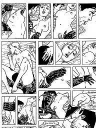 Cartoons, French, Bdsm cartoon, Bdsm cartoons, Cartoon bdsm