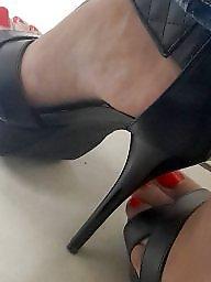 Femdom, Feet, Real amateur