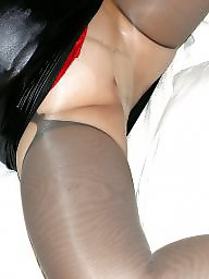 Pantyhose, Mature pantyhose, Amateur pantyhose, Black mature