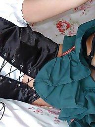 Vintage, Dress, Lady, Upskirt, Dressed, Ladies