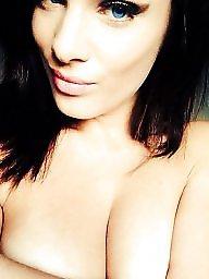 Big boobs, Brunette, Big, Cumming, Amateur boobs