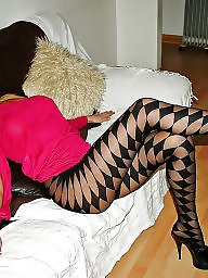 Stocking, Nylons, High heels, Candid, Heels, Stockings heels
