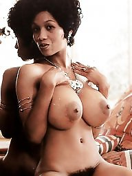 Vintage, Retro, Busty, Big ebony