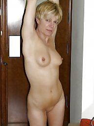Mature blonde, Mature blowjob