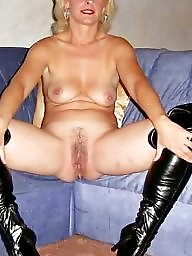Blonde mature, Mature blonde, Mature blond, Sexy stockings, Blond mature