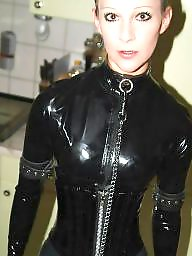 Latex, Leather, Pvc, Mature leather, Private, Mature pvc